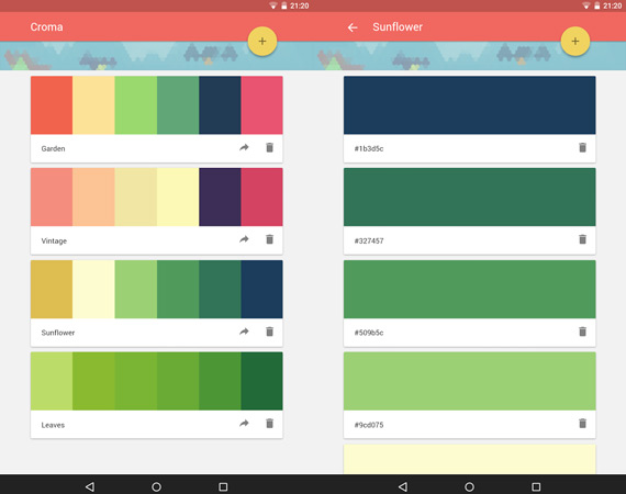Aplicaciones Android para diseñadores