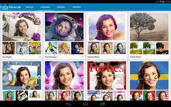 Aplicaciones para fotos divertidas en Android