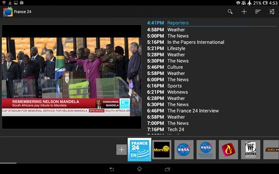 Aplicaciones para ver TV en Android