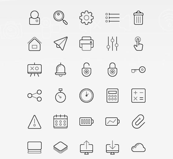 Twogrey Icons