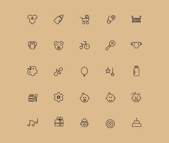 Free Babies Icons