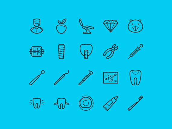Free Dental Icons
