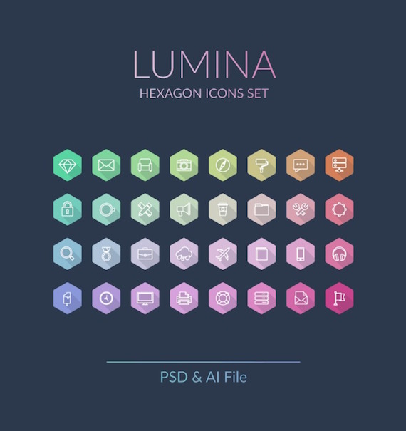 Lumina Icons