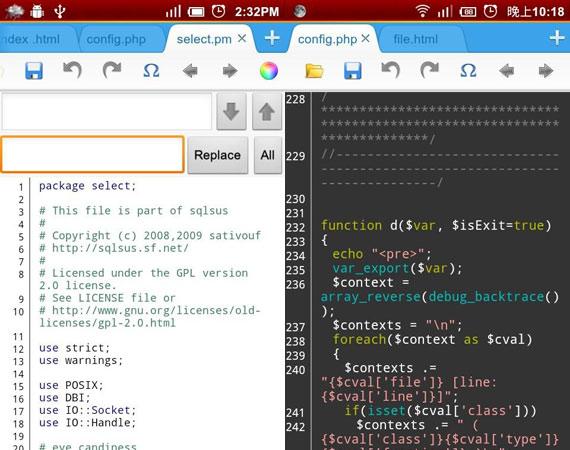 Aplicaciones Android para programadores