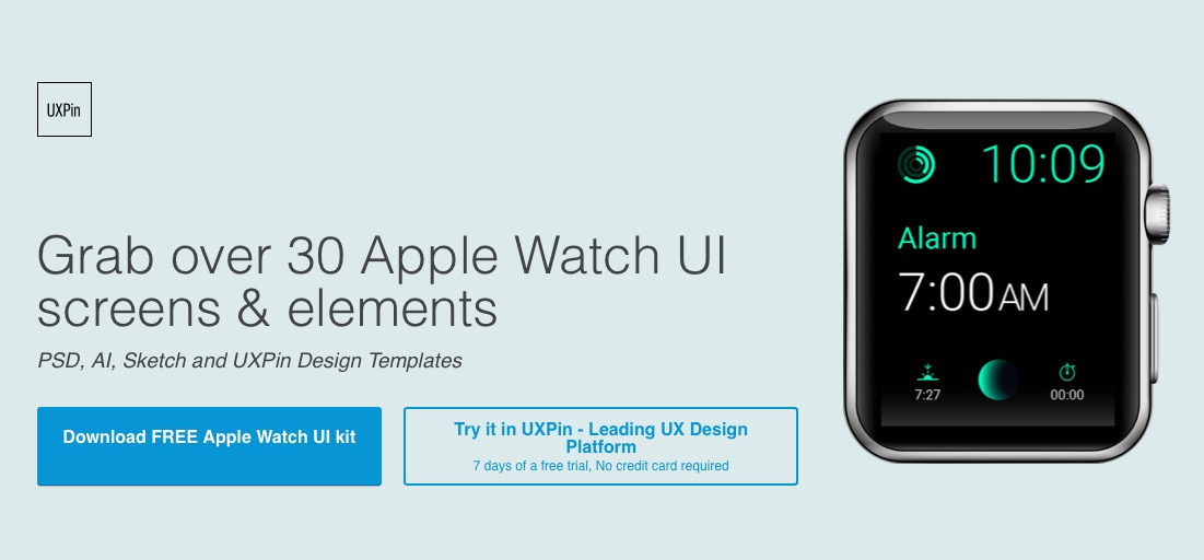 Compilado de elementos UI para Apple Watch