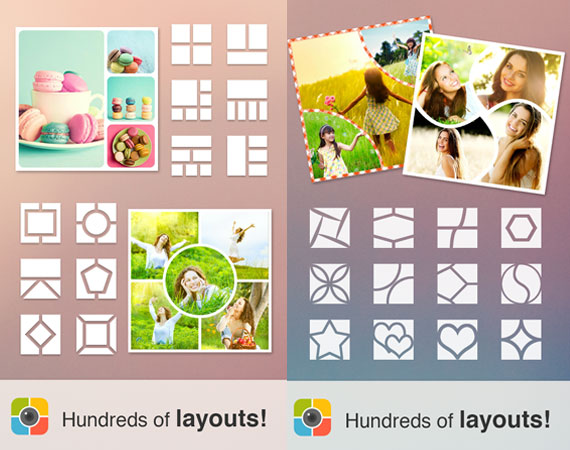 Apps android para crear collages gratis para descargar for Collage foto online gratis italiano
