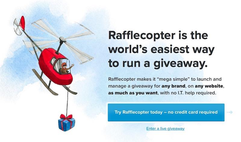 Rafflecopter: herramienta para organizar sorteos online
