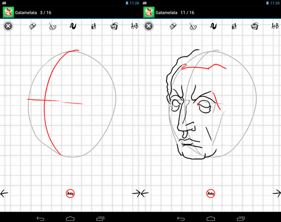 Apps Android para aprender a dibujar