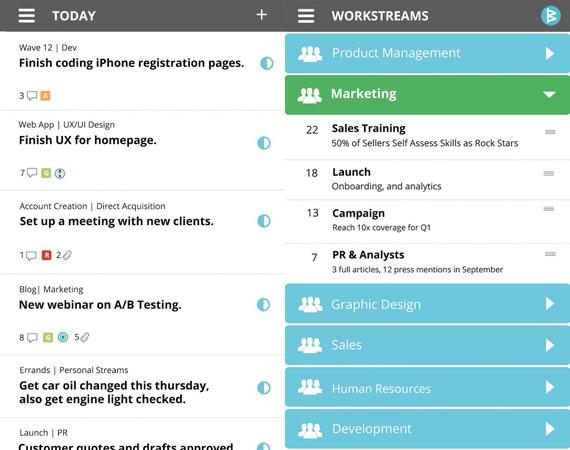 Gestionar proyectos grupales en Android con Workboard