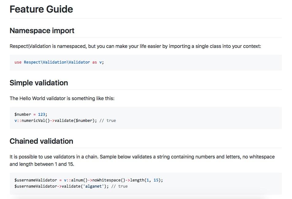 Biblioteca gratuita para validar datos con PHP