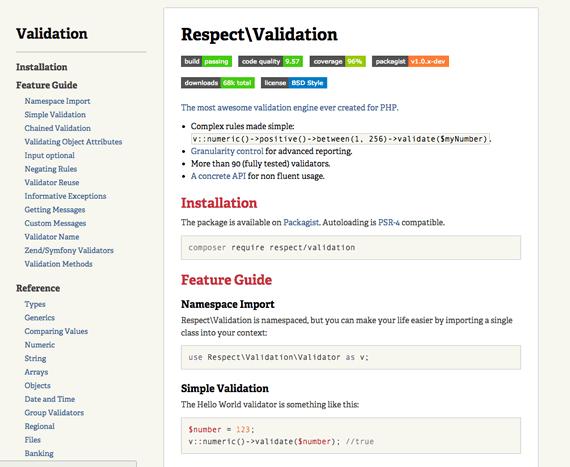 validar entradas con php
