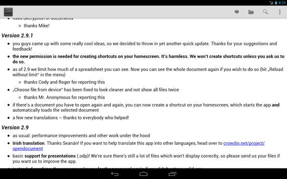 Las mejores aplicaciones office para Android