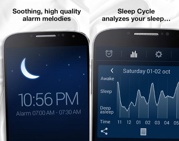 Aplicaciones Android para dormir mejor