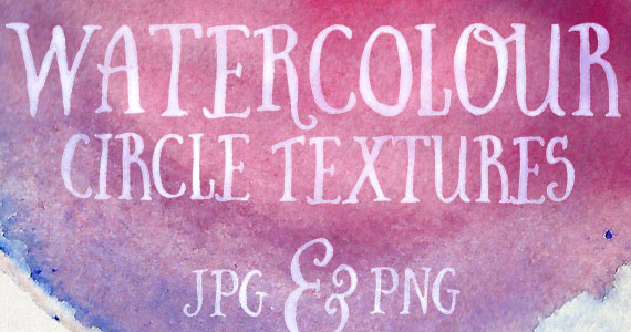 Recursos estilo acuarela - Texturas efecto acuarela