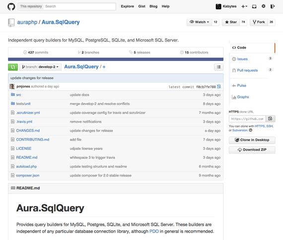 Clase PHP para trabajar con MySQL y Postgres entre otras