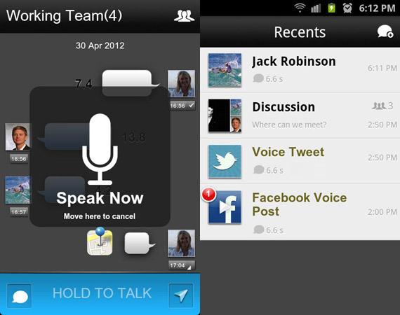 Aplicaciones Push to Talk para Android