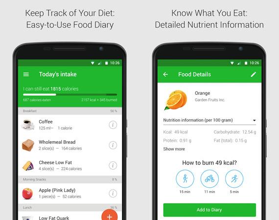 Aplicaciones Android para cuidar la salud