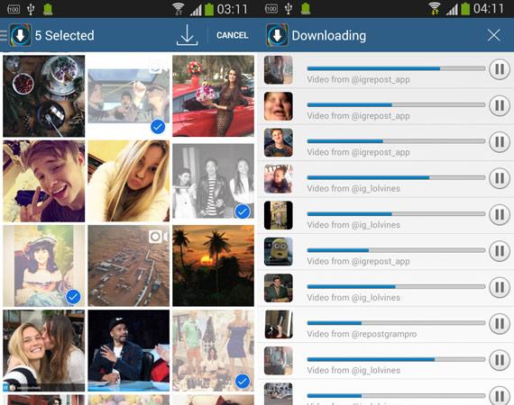 Aplicaciones Android para Instagram