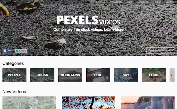 Bibliotecas de videos libres y gratuitos - Pexels Videos