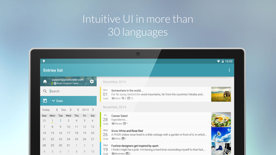 Apps para armar un diario personal en Android
