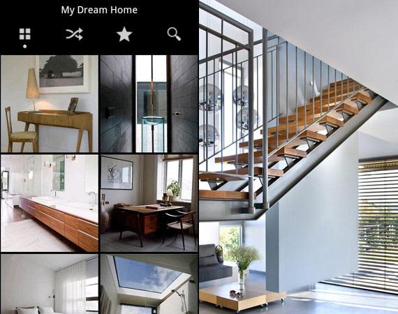 Apps Android de decoración interior