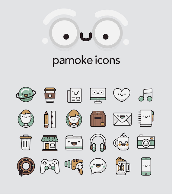 Pamoke Free Icon Set