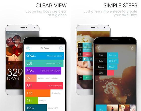 Las mejores apps Android para cuentas regresivas