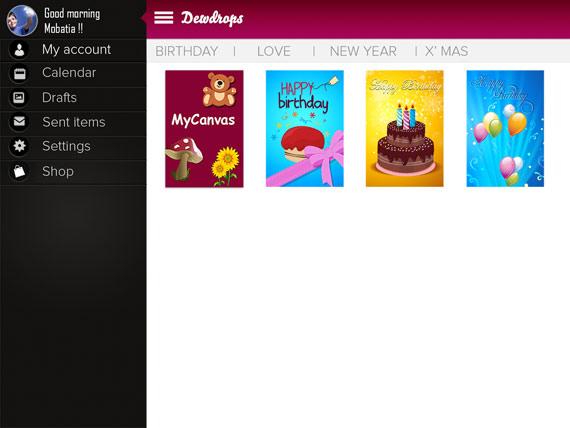 Apps Android para crear tarjetas de felicitación