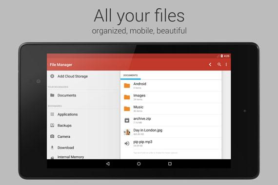 Los mejores exploradores de archivos para Android