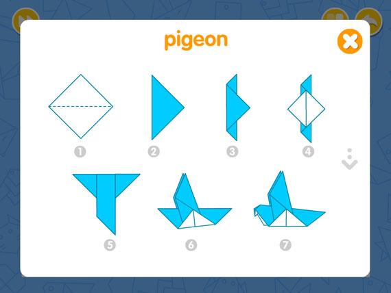 Aplicaciones de origami para Android