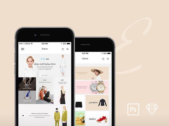 Elegance iOS: diseño de aplicación móvil