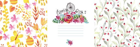 Texturas florales de primavera en .JPG