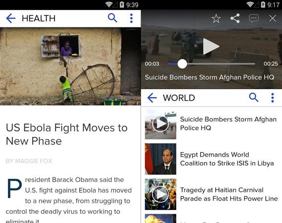 Aplicaciones Android para estar informado