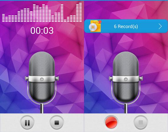 Aplicaciones Android para grabar sonido