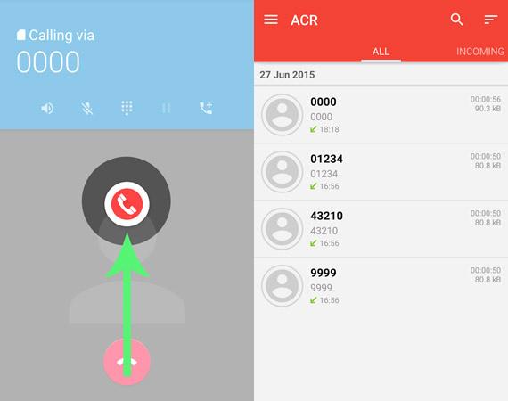 Aplicaciones para grabar llamadas en Android
