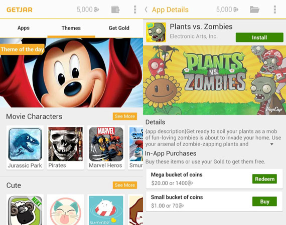 Alternativas a Google Play Store
