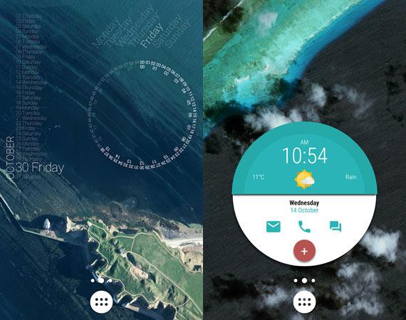 Widgets personalizados Android
