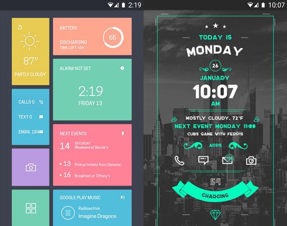 Widgets personalizados en Android