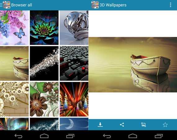 Wallpapers temáticos para Android