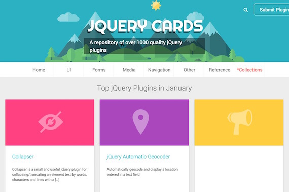 jQuery Cards: repositorio de plugins jQuery