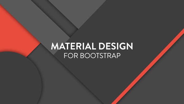 material design para bootstrap 3
