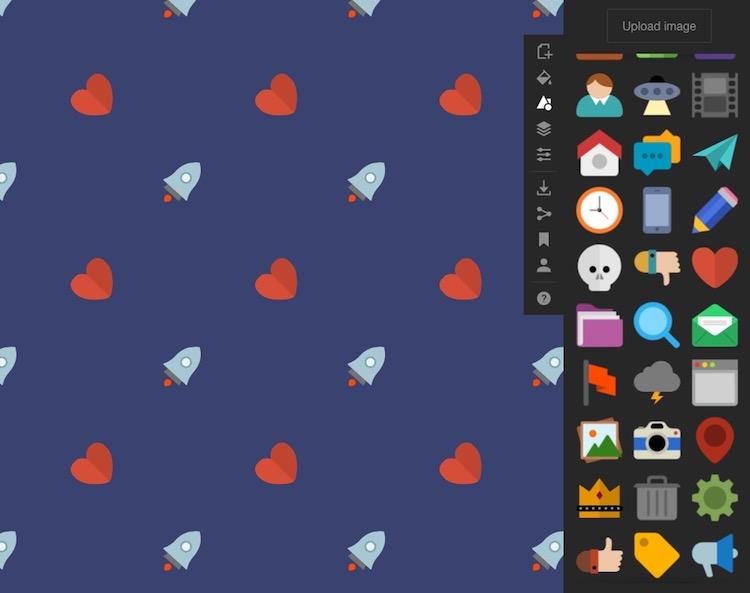Patrones elaborados con SVG en Patterninja
