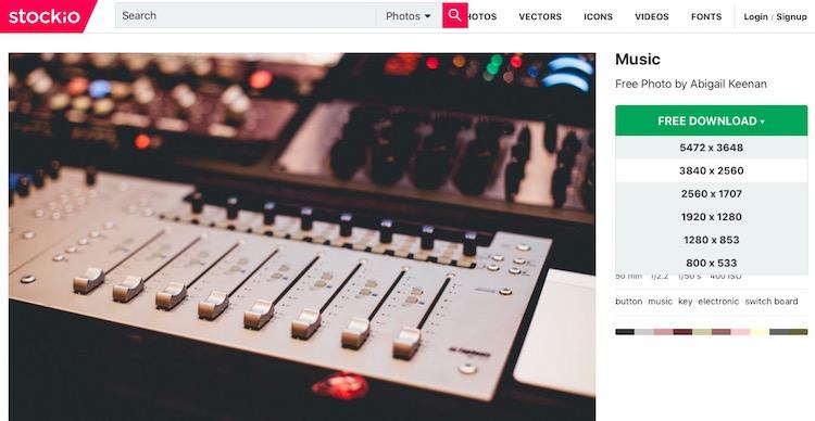 Stockio.com: recursos gráficos gratuitos para uso comercial y personal